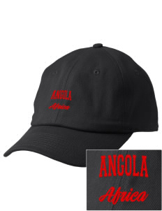 Angola Embroidered Champion 6-Panel Cap