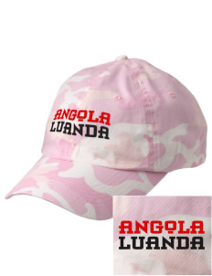 Angola Embroidered Camouflage Cotton Cap