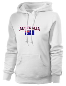 Australia Russell Women's Pro Cotton Fleece Hooded Sweatshirt