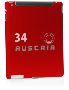 Austria Apple iPad 2 Skin
