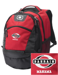 Bahrain Embroidered OGIO Rogue Backpack