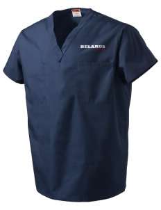 Belarus V-Neck Scrub Top