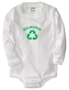 Belize  Baby Long Sleeve 1-Piece with Shoulder Snaps