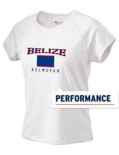 Belize Champion Women's Wicking T-Shirt
