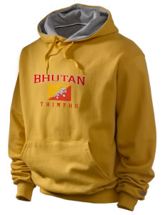 Bhutan Champion Men's Hooded Sweatshirt