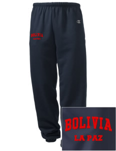 Bolivia Embroidered Champion Men's Sweatpants
