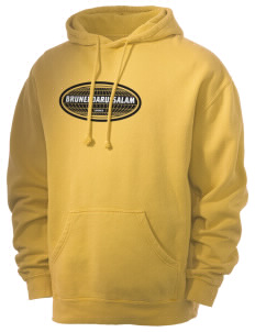 Brunei Darussalam Men's 80/20 Pigment Dyed Hooded Sweatshirt