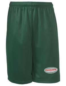 "Bulgaria Long Mesh Shorts, 9"" Inseam"
