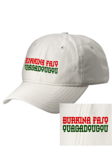 Burkina Faso  Embroidered New Era Adjustable Unstructured Cap