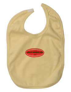 Burkina Faso Baby Interlock Bib