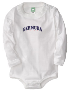 Burma  Baby Long Sleeve 1-Piece with Shoulder Snaps
