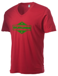 Burundi Alternative Men's 3.7 oz Basic V-Neck T-Shirt