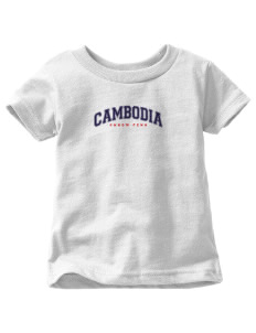 Cambodia  Toddler Jersey T-Shirt