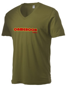 Cameroon Alternative Men's 3.7 oz Basic V-Neck T-Shirt