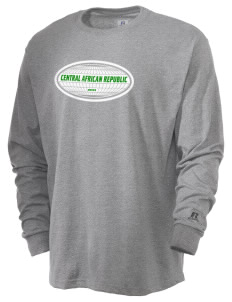 Central African Republic  Russell Men's Long Sleeve T-Shirt
