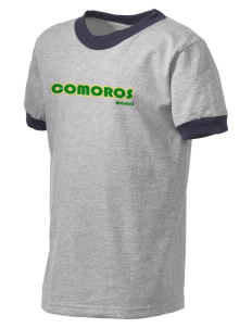 Comoros Kid's Ringer T-Shirt