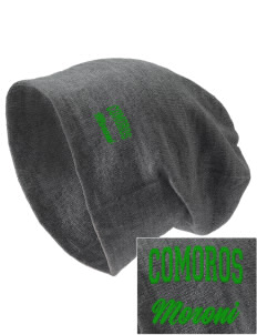 Comoros Embroidered Slouch Beanie