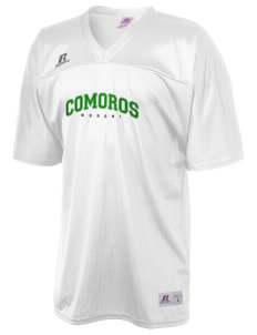 Comoros  Russell Men's Replica Football Jersey