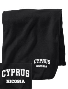 Cyprus Embroidered Holloway Stadium Fleece Blanket