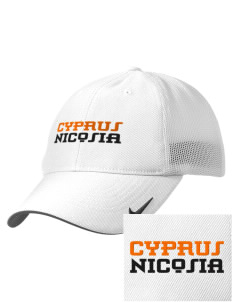Cyprus Embroidered Nike Golf Mesh Back Cap