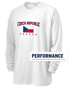 Czech Republic Men's Ultimate Performance Long Sleeve T-Shirt