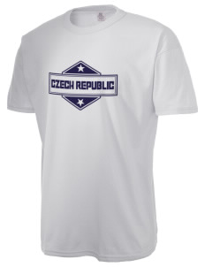 Czech Republic  Russell Men's NuBlend T-Shirt