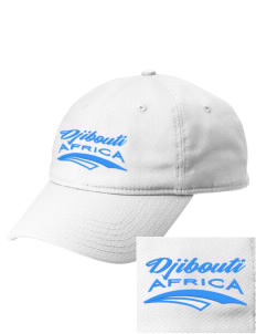 Djibouti  Embroidered New Era Adjustable Unstructured Cap