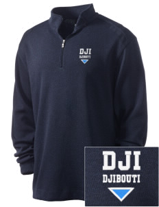Djibouti Embroidered Nike Men's Golf Heather Cover Up