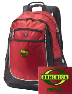 Dominica Embroidered OGIO Carbon Backpack
