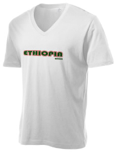 Ethiopia Alternative Men's 3.7 oz Basic V-Neck T-Shirt