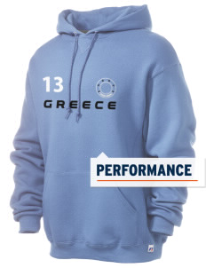 Greece Russell Men's Dri-Power Hooded Sweatshirt