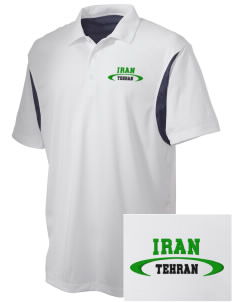 Iran Embroidered Men's Back Blocked Micro Pique Polo