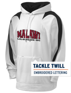 Malawi Holloway Men's Sports Fleece Hooded Sweatshirt with Tackle Twill