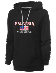 Malaysia Women's Core Fleece Hooded Sweatshirt