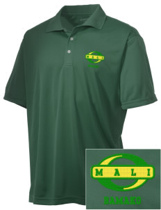 Mali Embroidered Men's Double Mesh Polo