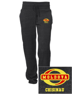Moldova Embroidered Alternative Women's Unisex 6.4 oz. Costanza Gym Pant