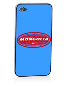 Mongolia Apple iPhone 4/4S Skin