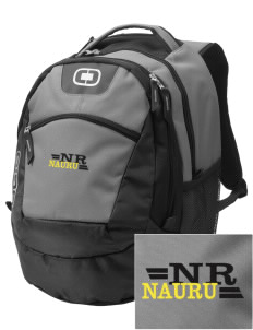 Nauru Embroidered OGIO Rogue Backpack