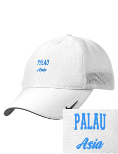 Palau Embroidered Nike Golf Mesh Back Cap