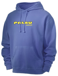 Palau Men's 80/20 Pigment Dyed Hooded Sweatshirt