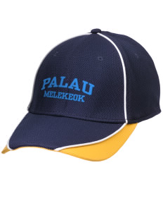 Palau Embroidered New Era Contrast Piped Performance Cap