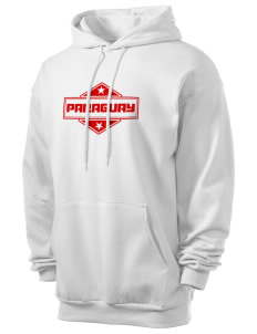 Paraguay Men's 7.8 oz Lightweight Hooded Sweatshirt
