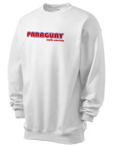 Paraguay Men's 7.8 oz Lightweight Crewneck Sweatshirt