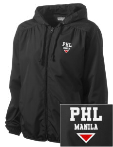 Philippines Embroidered Women's Hooded Essential Jacket