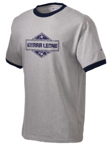 Sierra Leone Champion Men's Ringer T-Shirt