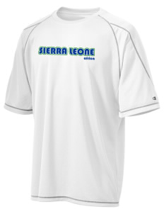 Sierra Leone Champion Men's 4.1 oz Double Dry Odor Resistance T-Shirt