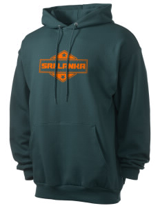 Sri Lanka Men's 7.8 oz Lightweight Hooded Sweatshirt