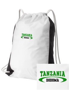 Tanzania Embroidered Holloway Home and Away Cinch Bag
