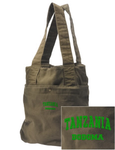 Tanzania Embroidered Alternative The Berkeley Tote