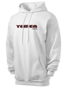 Yemen Men's 7.8 oz Lightweight Hooded Sweatshirt